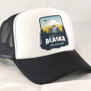 Gorra Negra «Proyecto Alaska»