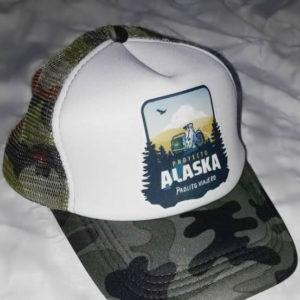 Gorra Camuflada/Blanca «Proyecto Alaska»